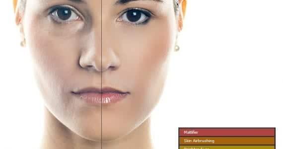 Retocador de piel
