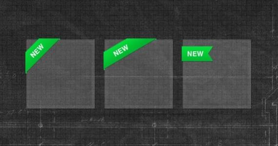3 Lazos de esquina verdes