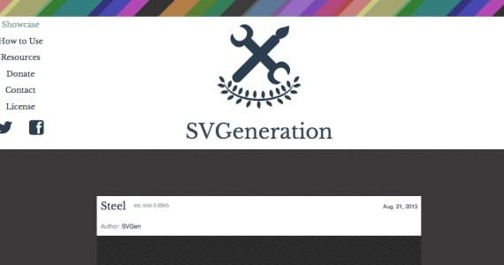 SVGeneration, imágenes que no pesan