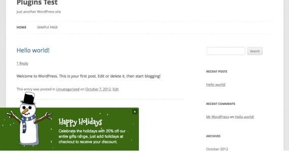 Plugins WordPress para Navidad
