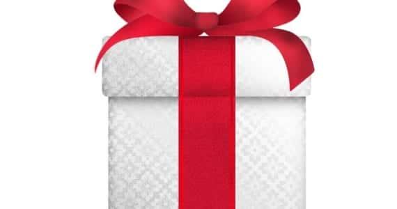 Icono de regalo de Navidad