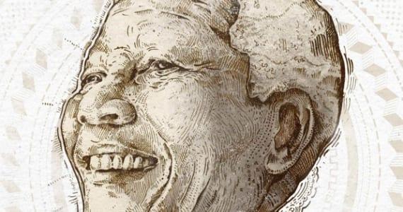 Nelson Mandela tributos gráficos