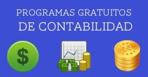 Programas gratuitos de contabilidad
