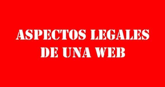 Aspectos legales de una web