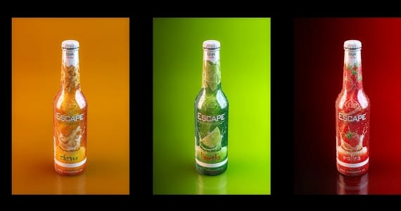 Botellas realizadas en 3D