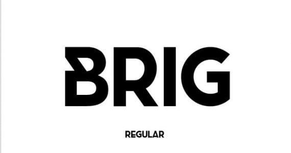 Brig, tipografía gratis