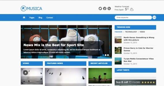 6 Temas responsive gratis de WordPress para tu periódico digital