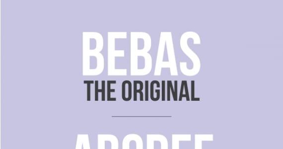 Bebas, tipografías de descarga gratuita