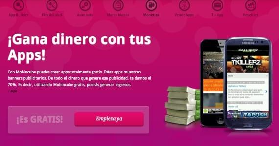 Gana dinero con tu app