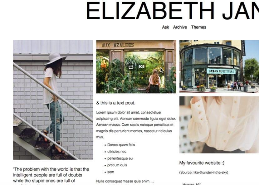 Elizabeth, temas tumblr