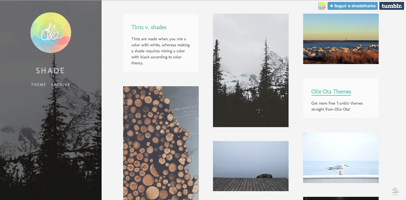 Temas para Tumblr gratis