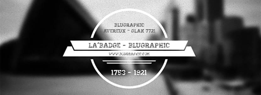 Badges para fotografías de estilo retro
