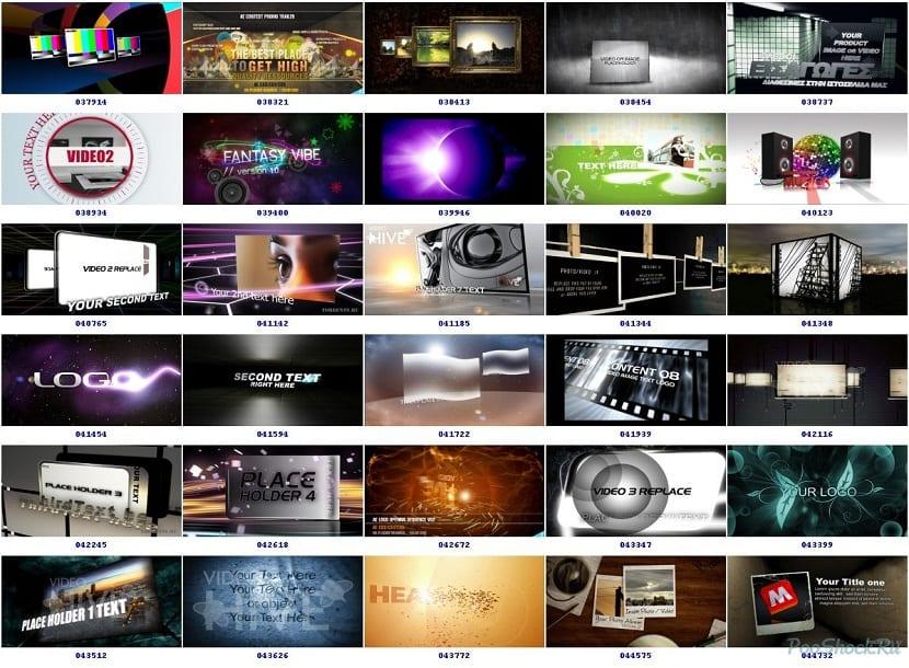 Videohive para descargar intros editables