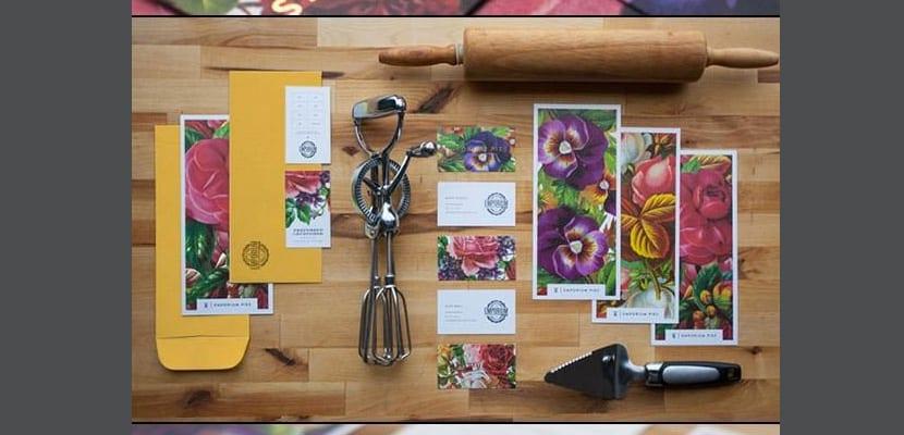 Branding con flores