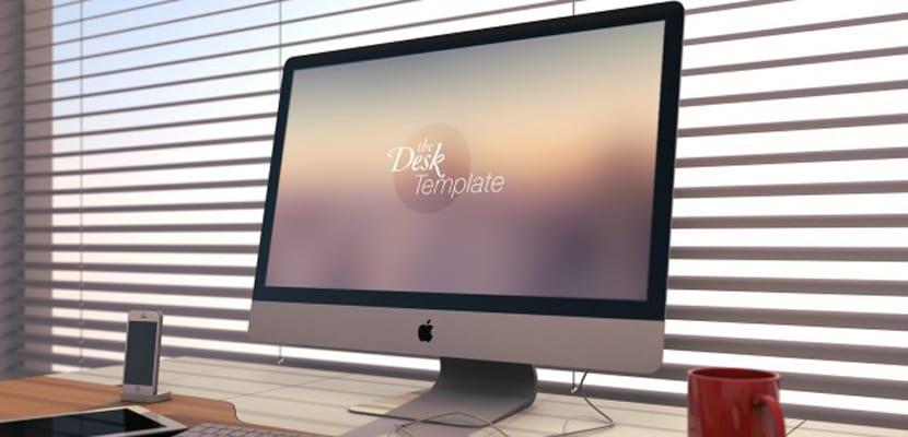 iMac realista