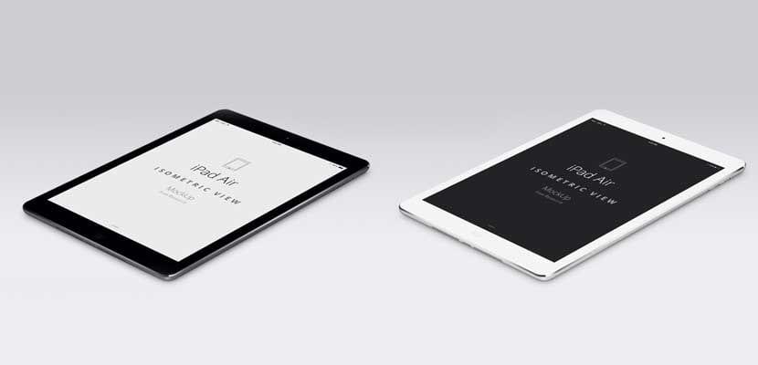 iPad negro y blanco