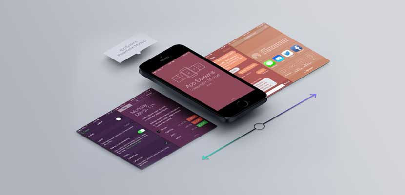 Mockup para diseño de app