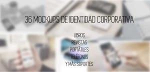 Mockups de identidad corporativa