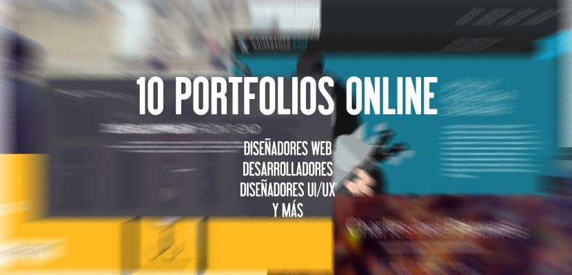 10 Portfolios online