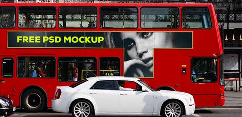 Mockup gratuitos de publicidad exterior