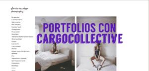 Buenos portfolios con Cargocollective
