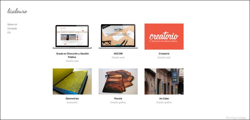Lualouro, portfolio
