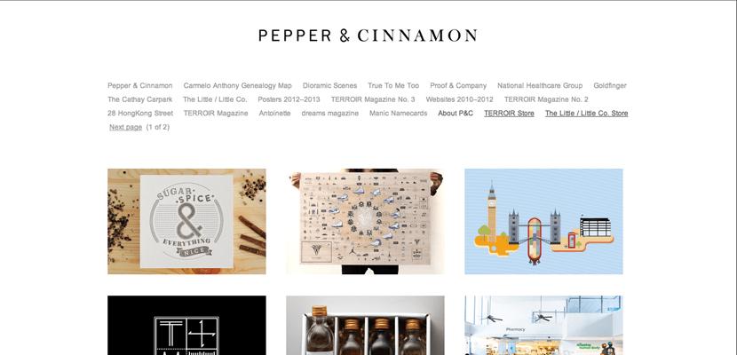 Pepper & Cinnamon