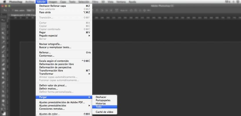 Optimización del rendimiento Photoshop