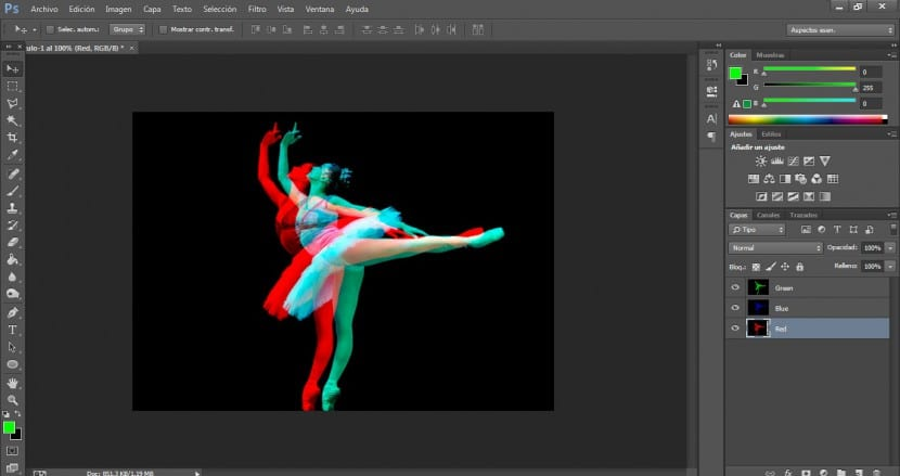 Tutorial Photoshop Efecto Harris Shutter