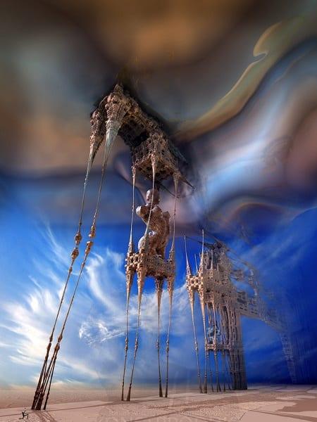 Fractalic Mystical Daliphants
