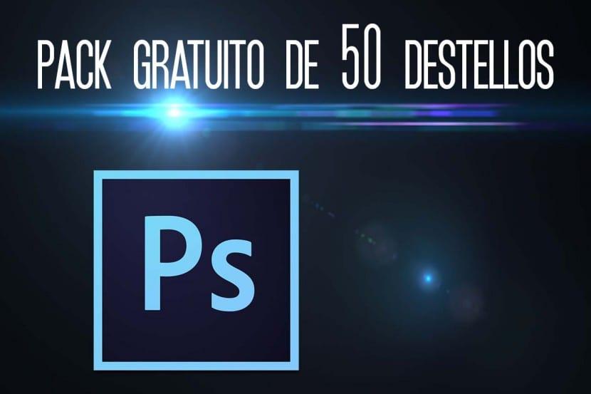 Pack gratuito de destellos para Photoshop
