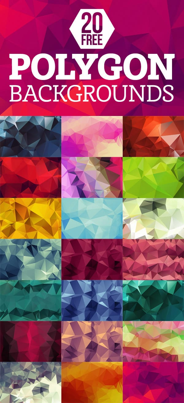 polygon-backgrounds-pack