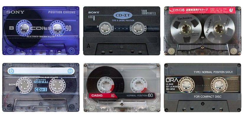 Cintas de cassette