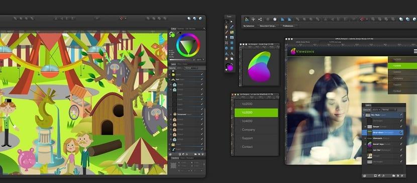 Affinity Designer herramienta