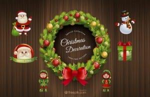 Pack gratuito Navidad