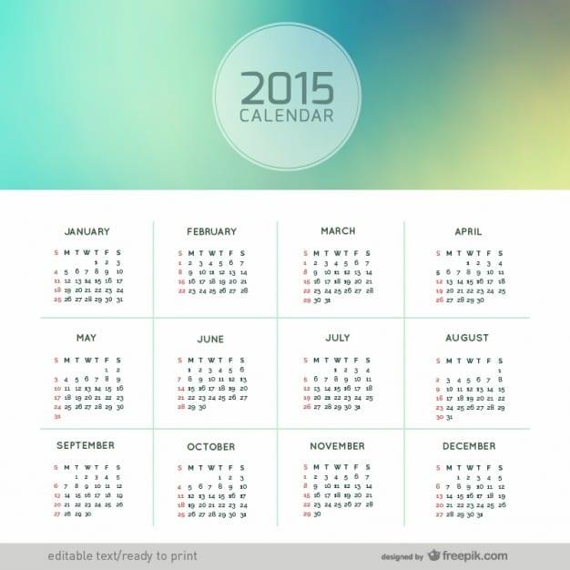 calendario-de-2015-abstracto_23-2147497714