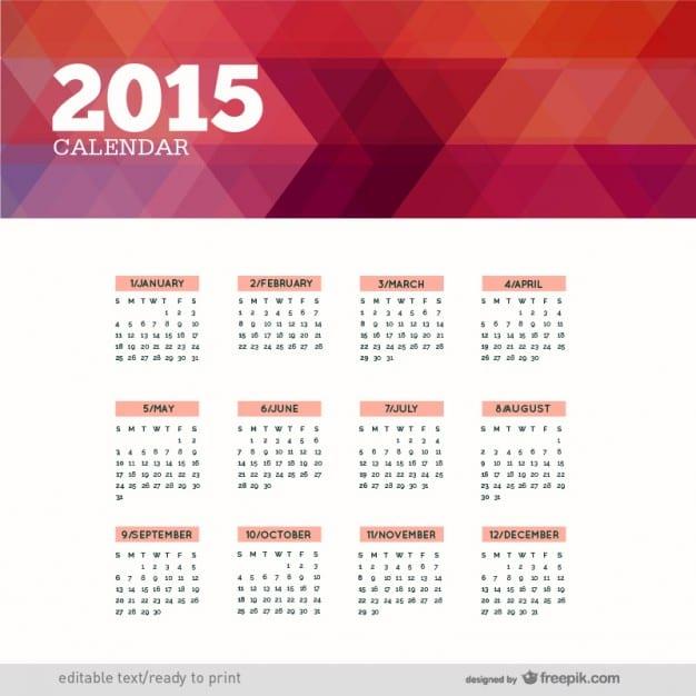 calendario-poligonal-de-2015_23-2147497721
