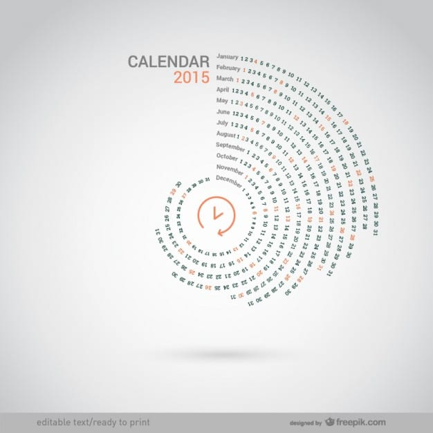 calendario-redondo-de-2015_23-2147497720