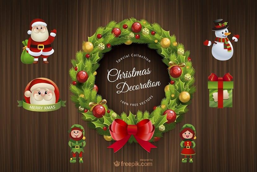 Navidad pack gratuito