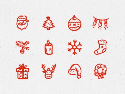 12 iconos