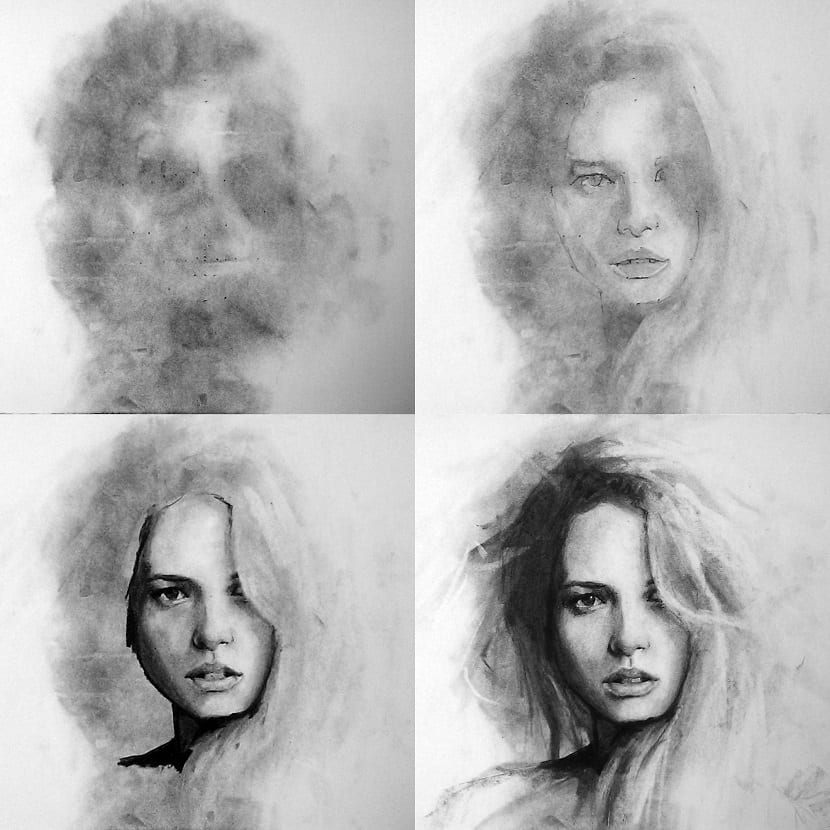 Harris retratos