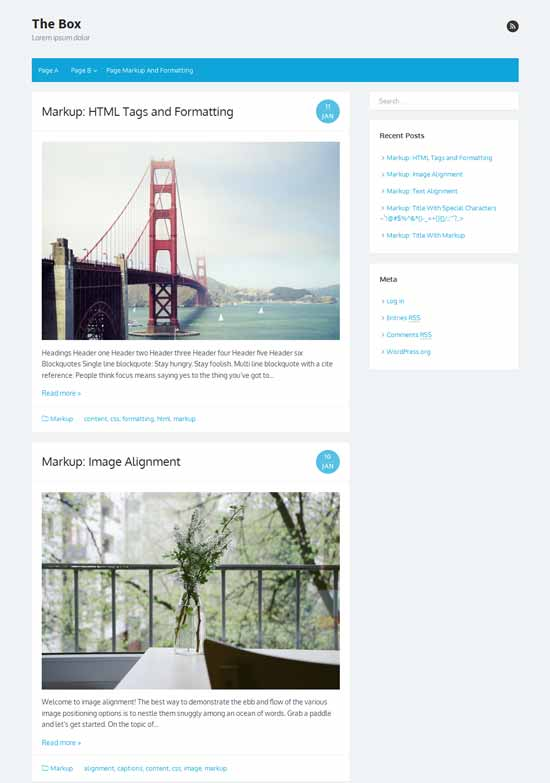 Box-Responsive-Free-WordPress-Theme