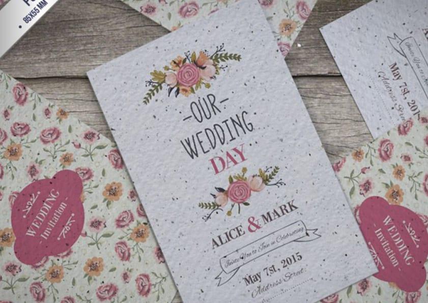 invitaciones de boda gratis descarga estas plantillas de invitaciones