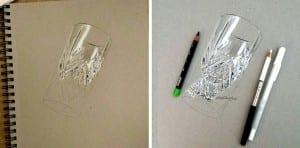 Estudio a lápiz