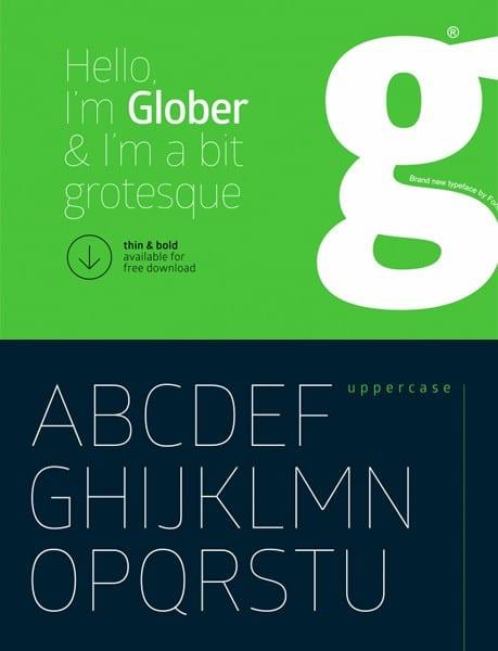 free-fonts-2014-glober