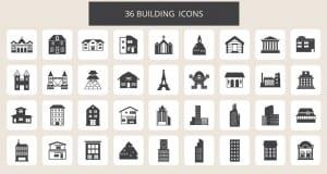 Pack iconos construcción