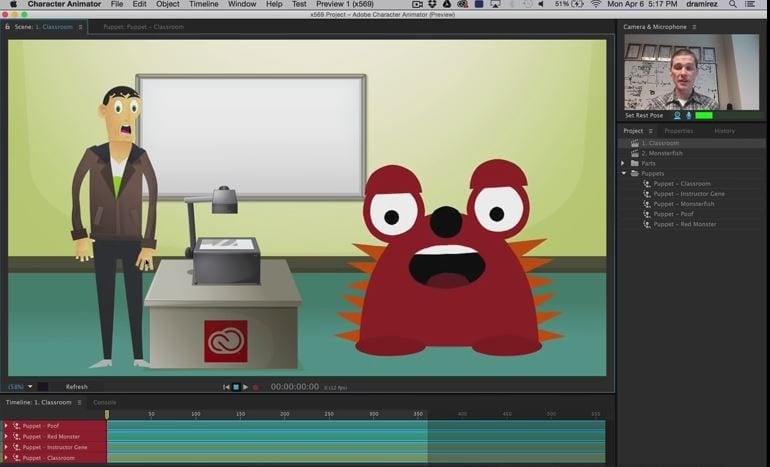 Adobe Character Animation