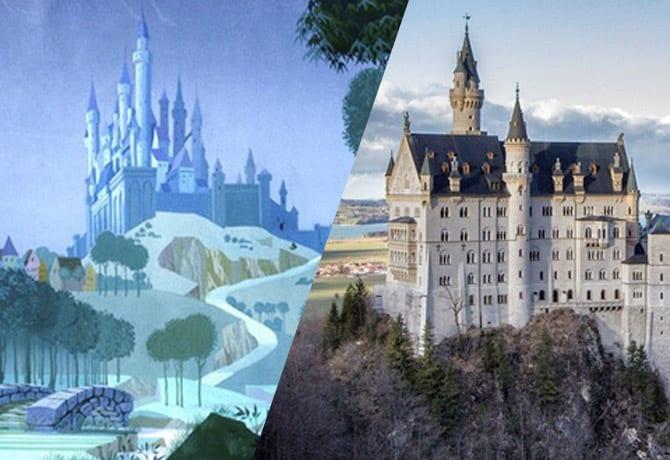 castillos-disney