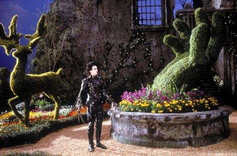 Edward Scissorhands (1990) Directed by Tim Burton Shown: Johnny Depp (as Edward Scissorhands)