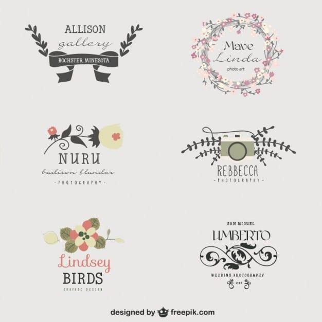 set-de-logos-florales_23-2147493763